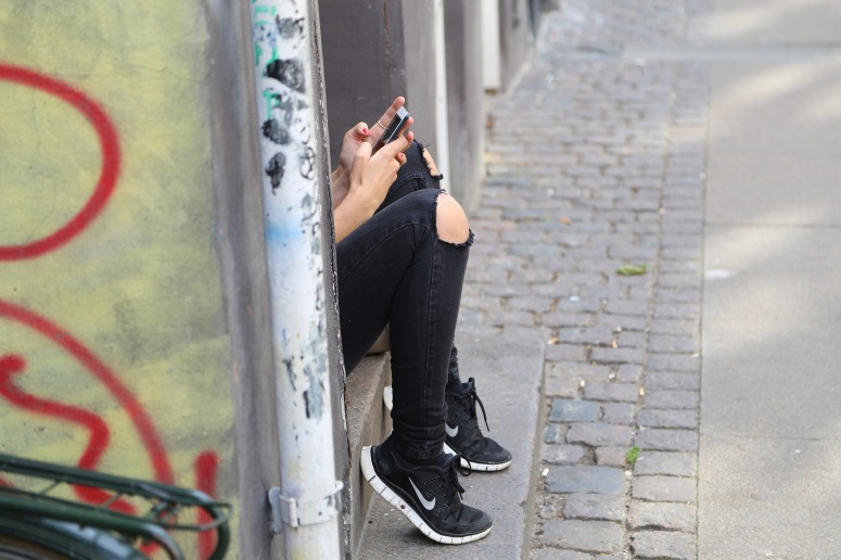 Girl Texting